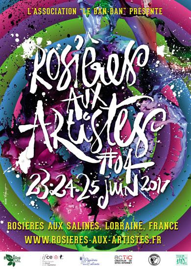 affiche de rosieres aux artistes 4 - 2017