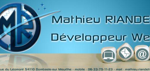Mathieu RIANDET