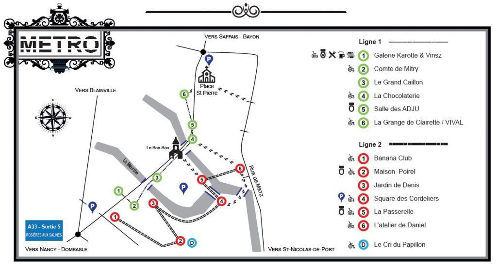 Plan de Rosière-aux-artistes N°5
